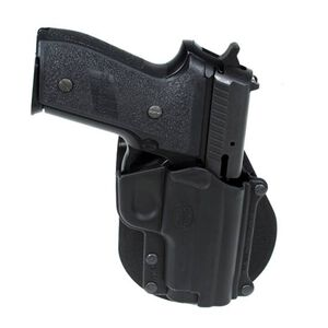 Fobus SIG229R 9mm and Steyr Model S Belt Holster Right Hand Polymer Black SG4BH