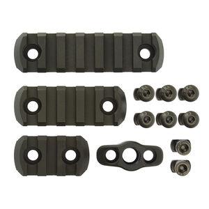 CMC Triggers M-LOK 4 Piece Accessory Kit Anodized Aluminum Matte Black 81724