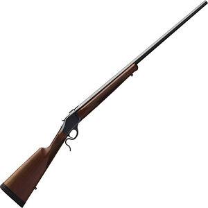 "Winchester M1885 High Wall Hunter .243 Win Falling Block Rifle 28"" Octagon Barrel 1 Round Walnut Stock Polished Blued Finish"