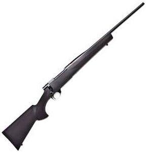 "Howa 1500 Hogue 7mm Rem Mag Bolt Action Rifle 24"" Barrel 3 Rounds Black Hogue Overmolded Stock Blued Finish"