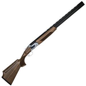 "CZ USA SCTP Southpaw Sterling Over/Under Shotgun 12 Gauge 28"" Barrels 3"" Chamber 8mm Flat Vent Rib Manual Tang Safety Gloss Black Chrome"