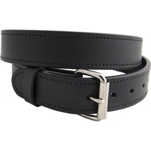 """Versacarry Double Ply Belt 1.5"""" Exotic Water Buffalo Nickel Plated Buckle Size 44 Distressed Brown 502/44"""