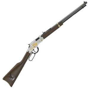 "Henry Golden Boy Fraternal Order of Eagles Tribute Lever Action Rifle 22 LR 20"" Octagonal Barrel 16 Rounds Walnut Stock 24K Highlights Blued"
