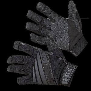 5.11 Tactical K9 Canine and Rope Handler Gloves Nylon/Kevlar 2 Extra Large Black 59360