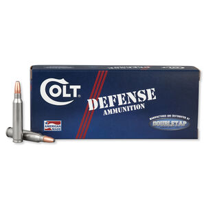 Colt Ammunition Defense .223 Rem Ammunition 20 Rounds 64 Grain BTHP 2950 fps