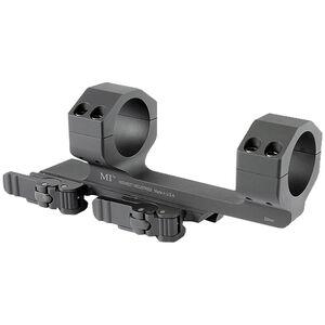 Midwest Industries AR-15 30mm Scope Mount QD Levers 6061 Aluminum Black MI-QD30SM