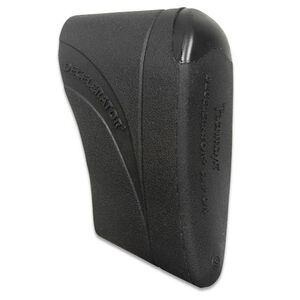 Pachmayr Decelerator Recoil Pad Slip on Softens Recoil Medium Black 04413
