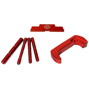 Cross Armory Glock Upgrade Kit 3 Piece For Gen 4 Glock Red Anodized