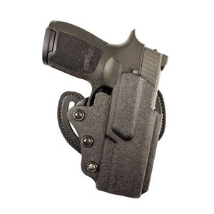 DeSantis Facilitator SIG Sauer P250 Compact/P320 Compact OWB Belt Holster Right Hand Draw Kydex Matte Black