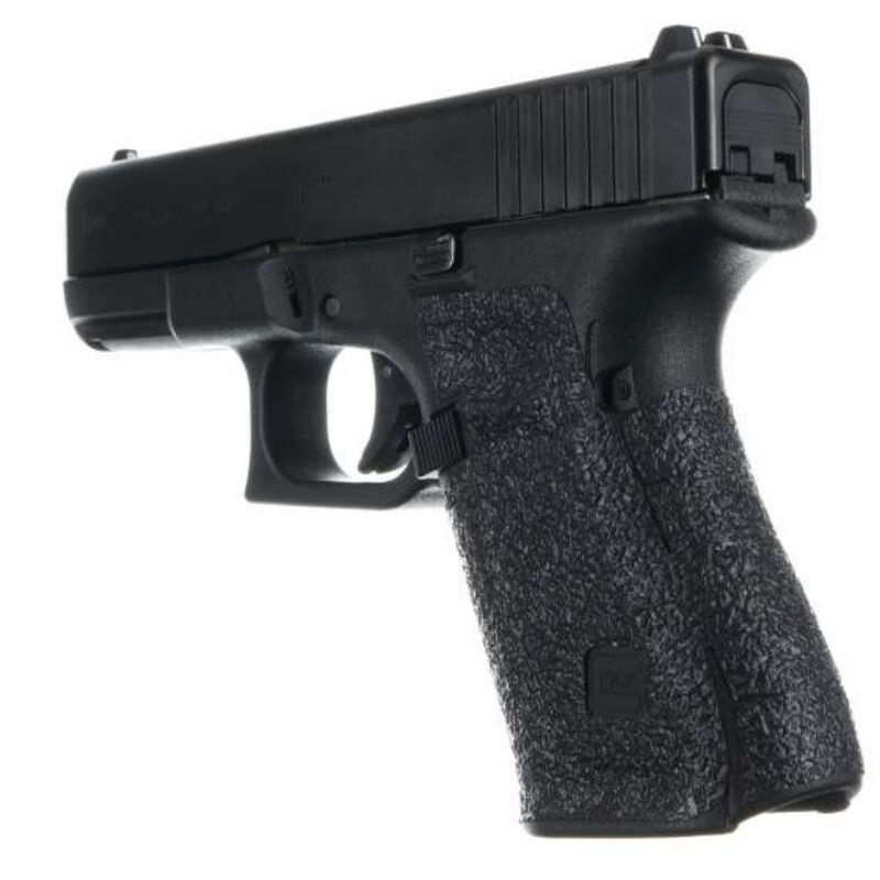 Talon Grips for GLOCK 19 Gen 5 Medium Backstrap Textured Rubber Adhesive  Grip Matte Black