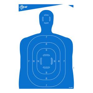 """Allen Company EZ Aim Paper Silhouette Target 23""""x35"""" 4 Pack Blue"""