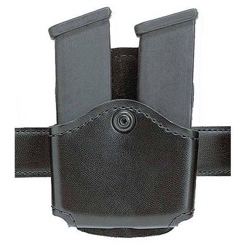 Safariland 572 Concealment Double Magazine Holder Paddle Single Stack Magazines Ambidextrous Plain Black 572-53-2