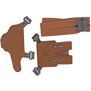 Galco Classic Lite 2.0 Shoulder Holster Right Hand Natural Leather for GLOCK 17/45/19