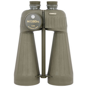 Steiner Optics M1580rc Binoculars with Reticle/Compass 15x Magnification 80mm Objective Lens Green