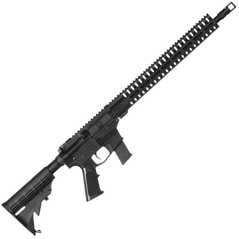 "CMMG Resolute 100 MkG .45 ACP AR-15 Semi Auto Rifle 16"" Barrel 13 Rounds Uses GLOCK Style Magazines RML15 M-LOK Handguard Collapsible Stock Black Finish"
