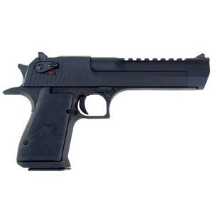 "Magnum Research Desert Eagle Mark XIX Semi Auto Pistol .357 Magnum 6"" Barrel 9 Rounds Fixed Combat Sights Weaver Accessory Rail Black Oxide Finish"