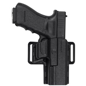 Uncle Mike's Reflex Holster Smith and Wesson M&P, SD9, SD40 Left Hand Black Kydex 74092