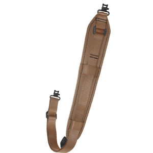 Outdoor Connection Original Padded Super Sling Adjustable Length Coyote Brown with Talon Swivels AD-20950