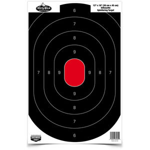 "Birchwood Casey Silhouette Target 12"" x 18"" 100 Count"