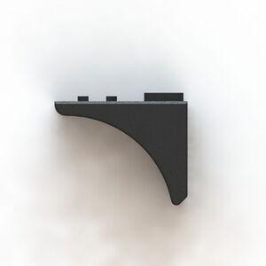 FIMS Firearms Session 1 Grip C Handstop M-LOK Carbon Fiber Polymer Black