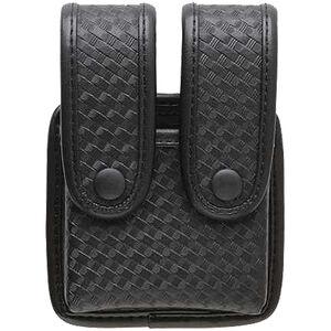 Uncle Mike's Mirage Basket Weave Double Pistol Mag Case 74362