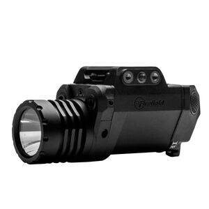 Firefield BattleTek Weapon Light with Green and IR Laser 150 Lumens CR123A Battery Picatinny Mount Thermoplastic Housing Black