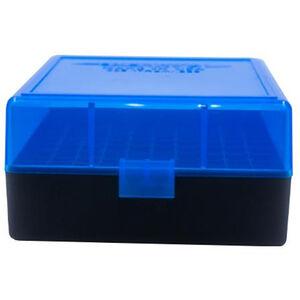 Berry's Ammo Box 223/5.56 100 Round Polymer Blue/Black