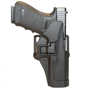 BLACKHAWK! SERPA CQC Glock 19, 23, 32, 36 Holster Left Hand Black Matte Finish 410502BK-L