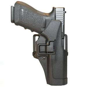 BLACKHAWK! SERPA CQC Glock 20, 21, Smith and Wesson M&P 45 Holster Left Hand Black Matte Finish 410513BK-L