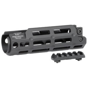 Midwest Industries HK MP5-A2/MP5-F/AA89 One Piece Hand Guard M-LOK Compatible 6061 Aluminum Hard Coat Anodized Matte Black Finish