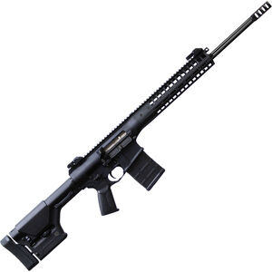 "LWRC REPR MK II 6.5 Creedmoor AR Style Semi Auto Rifle 22"" Barrel 20 Rounds Side Charging Handle Flip-Up Sights Magpul PRS Stock Black Finish"