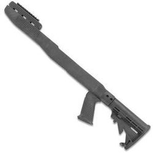 TAPCO Intrafuse T6 SKS Stock System Collapsible Stock/Pistol Grip/Picatinny Rail Upper Hand Guard Blade Bayonet Cut Polymer Matte Black