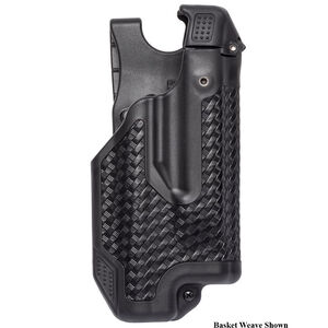 BLACKHAWK! Epoch Glock 17, 19, 22, 23, 31, 32 Level 3 Light Bearing Duty Holster Polymer Right Hand Matte Black 44E000BK-R