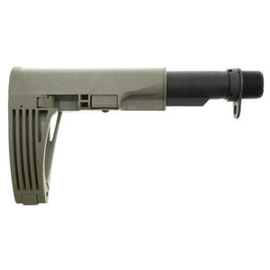 Gear Head Tailhook Mod 2 Pistol Stabilizing Brace Telescoping/Collapsible Design Polymer Flat Dark Earth
