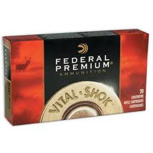 Federal V-Shok 280 Rem 140 Grain Trophy Copper 20 Rnd Box