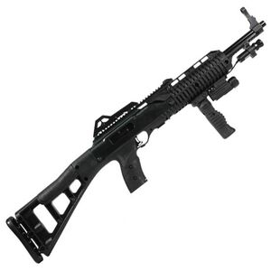 "Hi-Point Carbine Semi Automatic Rifle .40 S&W 17.5"" Barrel 10 Rounds Polymer Stock with Forward Grip Flashlight and Laser 4095FGFL-LAZ"