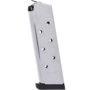 Smith & Wesson 1911 Magazine .45 ACP 8 Rounds Stainless Steel 19110