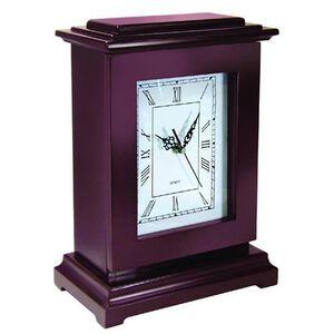 Personal Security Products Tall Gun Concealment Clock Wood Mahogany RGC