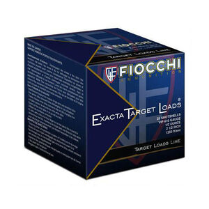 "Fiocchi Exacta Target .410 Bore Ammunition 250 Rounds 2.5"" #8 Lead 410VIP8"