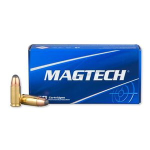Magtech 9mm Luger Ammunition 50 Rounds JSP 124 Grains 9S