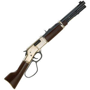 """Henry Repeating Arms Mare's Leg Lever Action Pistol .357/.38 Special 12.9"""" Barrel 5 Round Brass Recever Walnut Furniture H006MML"""