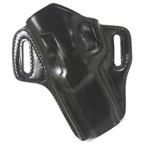 "Galco Colt Cobra, Detective Special 2"" Belt Holster Leather Left Hand Black CON119B"