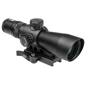 NcSTAR Mark III Tactical GEN II 3-9X42mm Tactical Riflescope Illuminated Mil Dot Reticle 0.5 MOA per Click Fixed Parallax Black