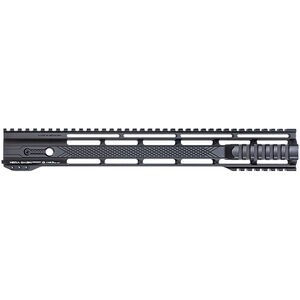 "HERA Arms USA AR-15 15"" IRS Hybrid Grip Integrated Rail System Free Float Rail High Quality Aluminum Matte Black Finish"