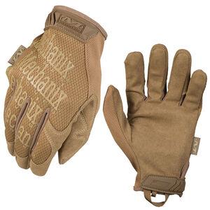 Mechanix Wear Original Coyote Glove Size Medium Coyote Tan