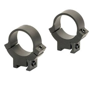 "Warne Scope Mounts 7.3/22 Rings Fits 3/8"" or 11mm Integrated Dovetail Rail 30mm Tube Diameter Medium Height Solid Steel Matte Black Finish 314LM"