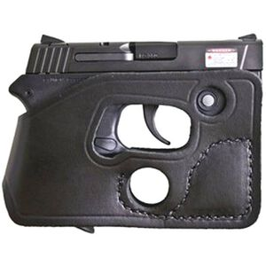 Desantis Pocket Shot Pocket Holster S&W Bodyguard .380 With Integrated Laser Ambidextrous Black Leather 110BJU7Z0