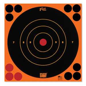 "Pro-Shot Splatter Shot 8"" Bulls-eye Orange 30 Pack"