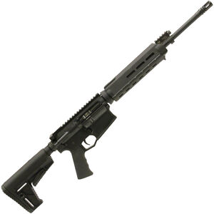 "Adams Arms P1 Small Frame AR-308 Semi Auto Rifle .308 Win 16"" Barrel 20 rounds Piston Operated System 6-Position Collapsible Stock Black"