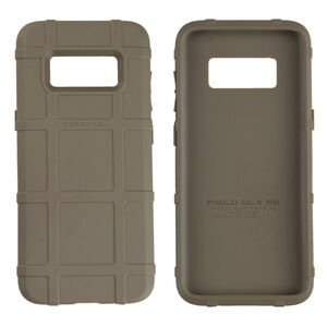 Magpul Field Case Samsung Galaxy S8 Flexible Thermoplastic Elastomer With PMAG Style Ribs For Grip Flat Dark Earth